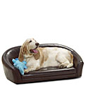 Faux Suede Dog Beds  |Free Shipping on Orders Over $50 Storewide| Sale Faux Suede Dog Beds & Faux Leather Dog Beds