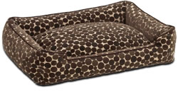 Flocked Cotton Dog Loungers - Jax & Bones Dog Beds|Jax and Bones Dog Beds|Jax and Bones Pet Beds from dogbedworks.com
