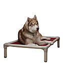 Almond Chewproof PVC Dog Bed
