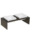Meshidai Double Dog Feeder