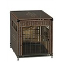 Herzhers Wicker Dog Crate