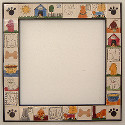 Nancy De Young Personalized Tile Dog Mirror