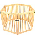 Six Panel Outdoor Dog Gate