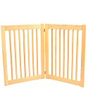 Two Panel Outdoor Dog Gate
