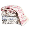 Toile Dog Blanket