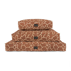 Giraffe Canvas Dog Bed