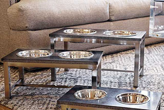 Unleashed Life Dog Bowls | FREE SHIPPING ON ORDERS OVER $69 - Dog Feeders - Elevated Dog Bowls