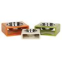 Designer Dog Bowls | Luxury Dog Bowls - Puppy Dog Bowls - Dog Dishes - Pet Dishes